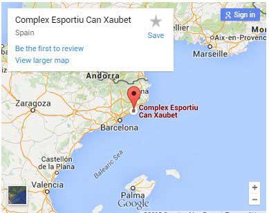 Cartina Catalogna.Come Arrivare Pineda Lloret De Mar Calella Santa Susanna Catalogna Spagna Barcellona Costa Brava Maresme Barcelonista Sporturismo